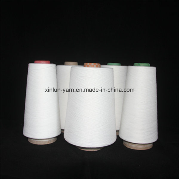 Ne 40/1 Virgin 100% Polyester Spun Knitting Yarn