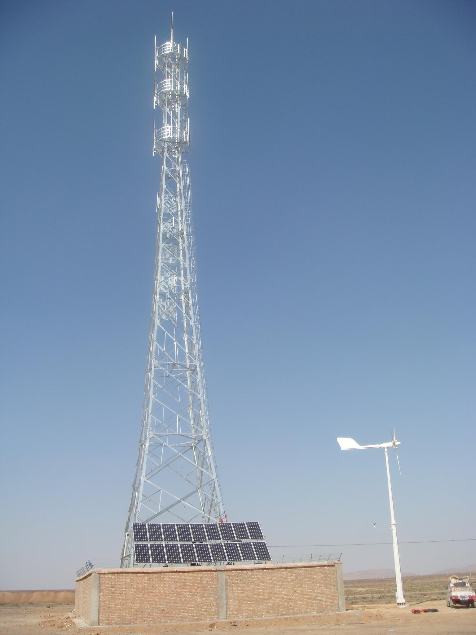 Anhua Wind Generator &Solar Energy Completely Soltuion Plan for Communication Base Station Power Supply
