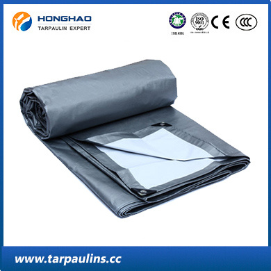 Silver Polyster Tarp PE Doubel-Coated Tarpaulin for Cover