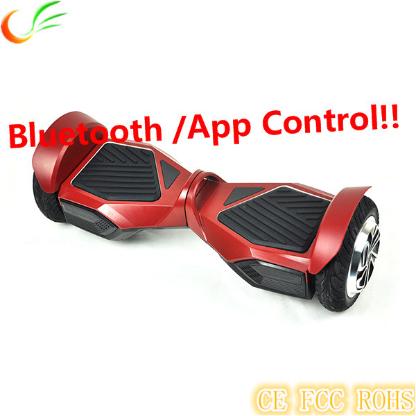 Multifunctional 8 Inch Europe Hot Smart Board Hoverboard with Bluetooth Speaker