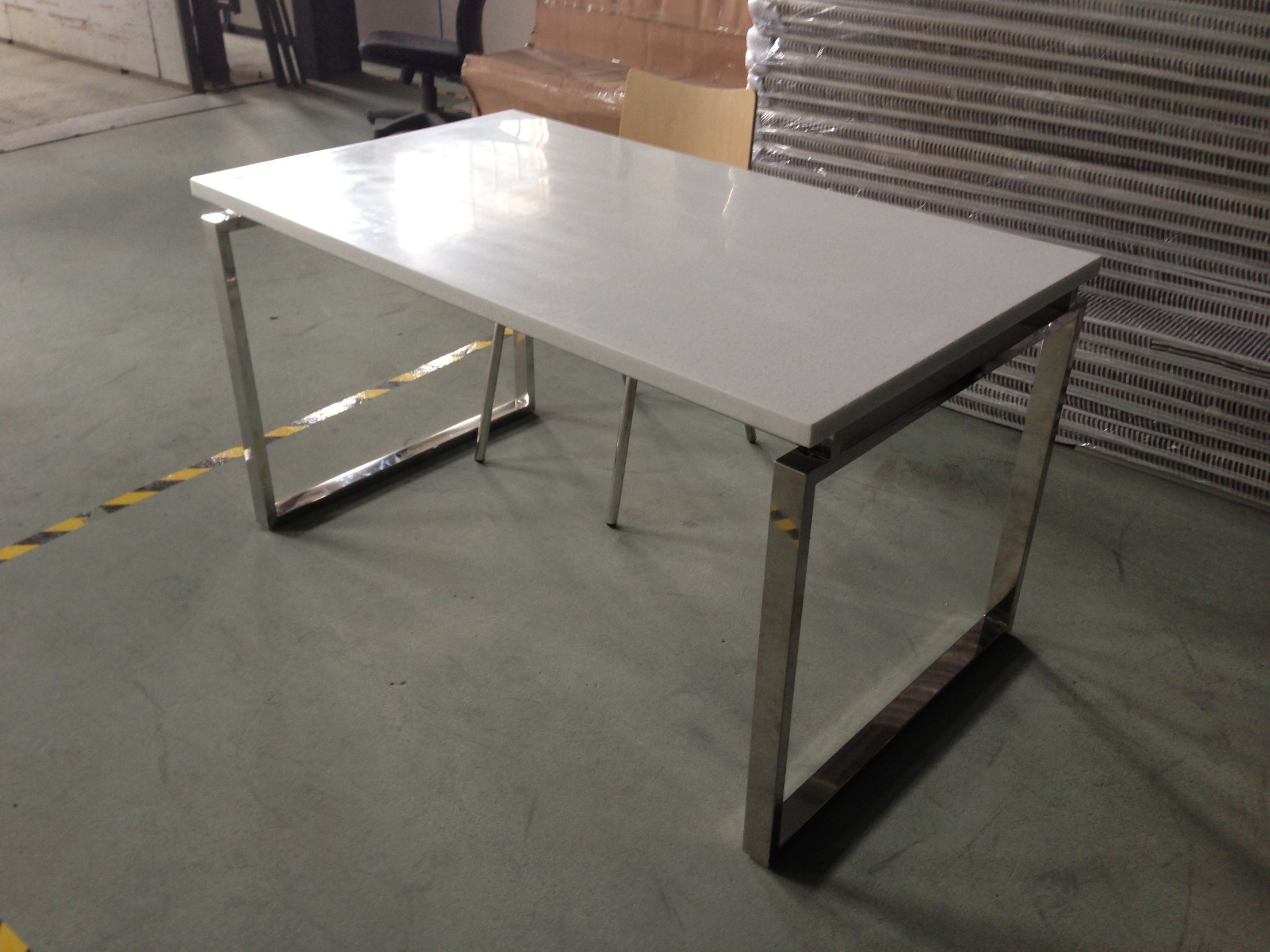 Hot Sale Stainless Steel Restaurant Table and Chair