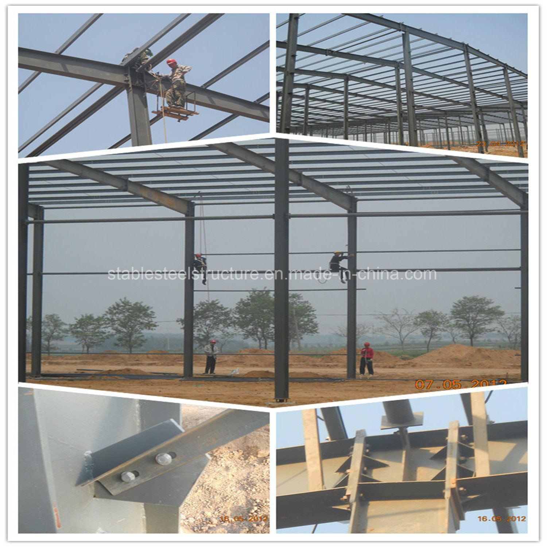 Pre Engineered Steel Structure for Warehouse, Workshop, Steel Building