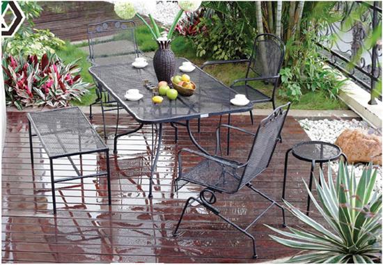 Giardini arredamento arredi in acciaio giardino for Arredamento made in china