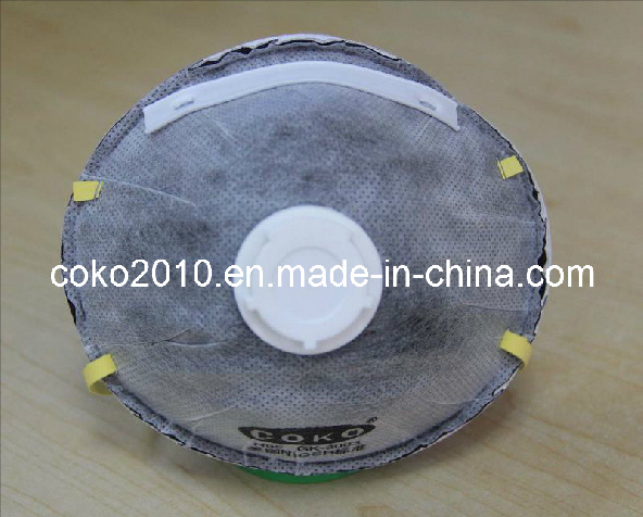 Disposable Dust Mask with Catbon and Valve