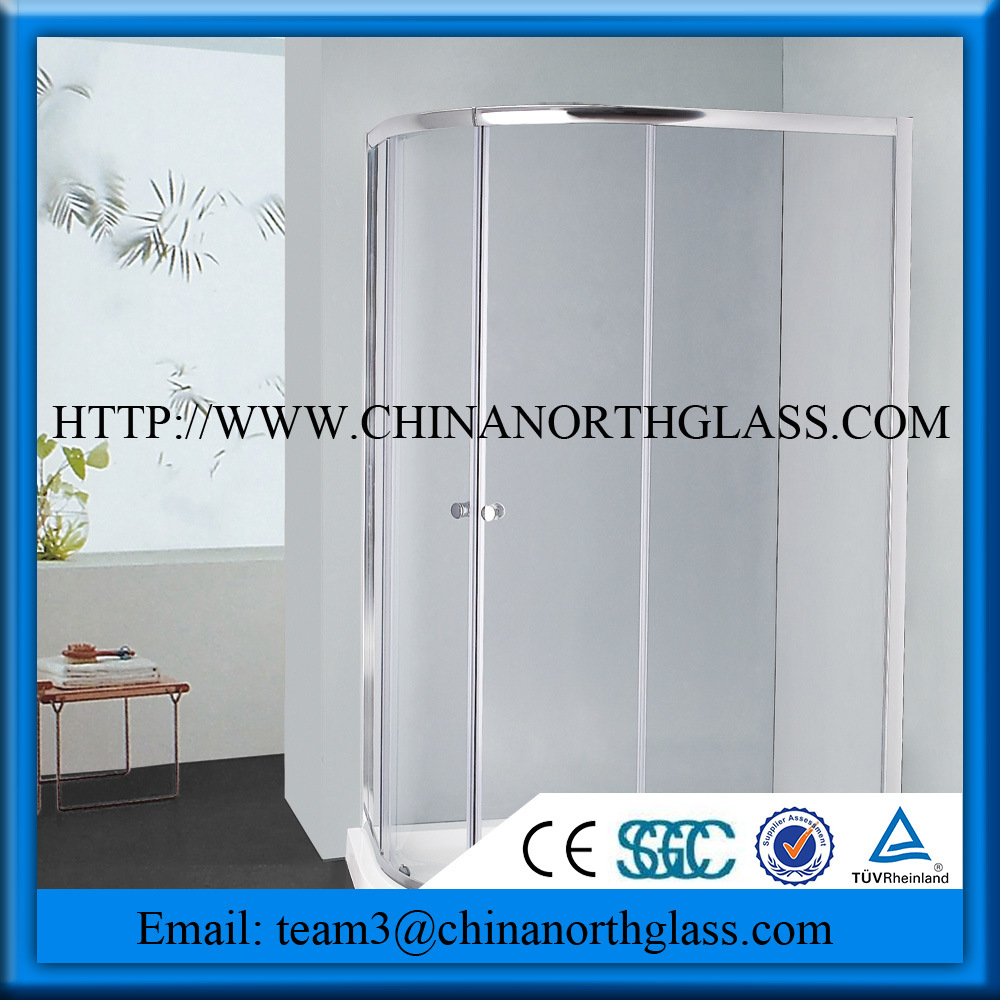 Tempered Toughtened Shower Door Glass