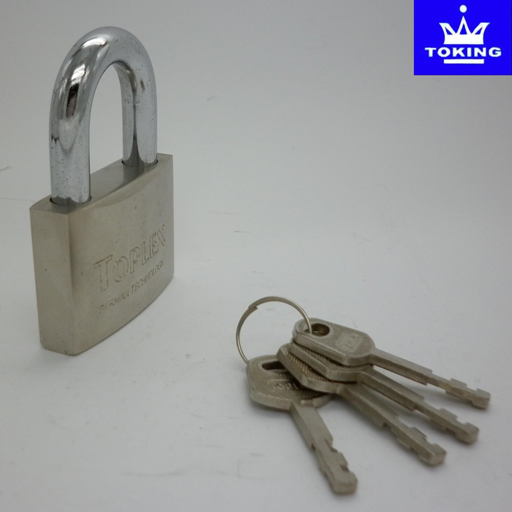 Arc Type Brass Padlock with Vane Keys (2502)