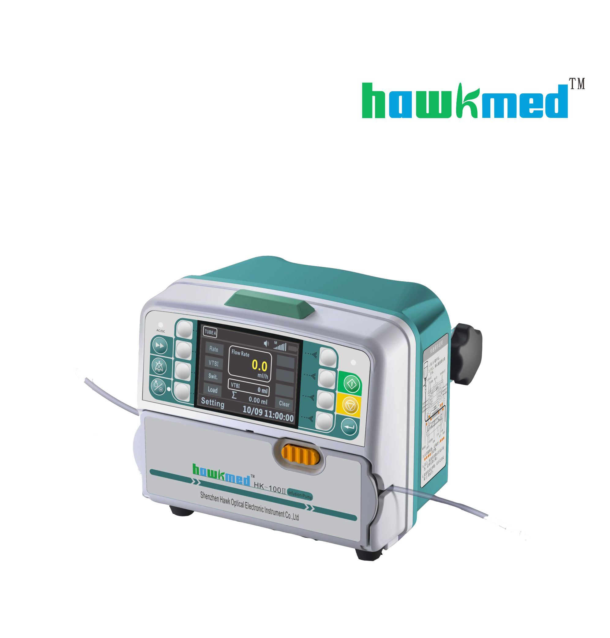Peristaltic Mini Medical Infusion Pump with CE