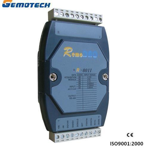 1 Channel Analog Input and Digital I/O Module (R-8012/R-8012+)