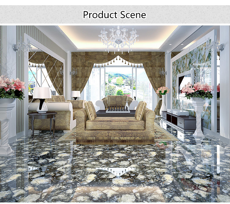 Wj8009 Porcelain Tile Micro Crystal Stone
