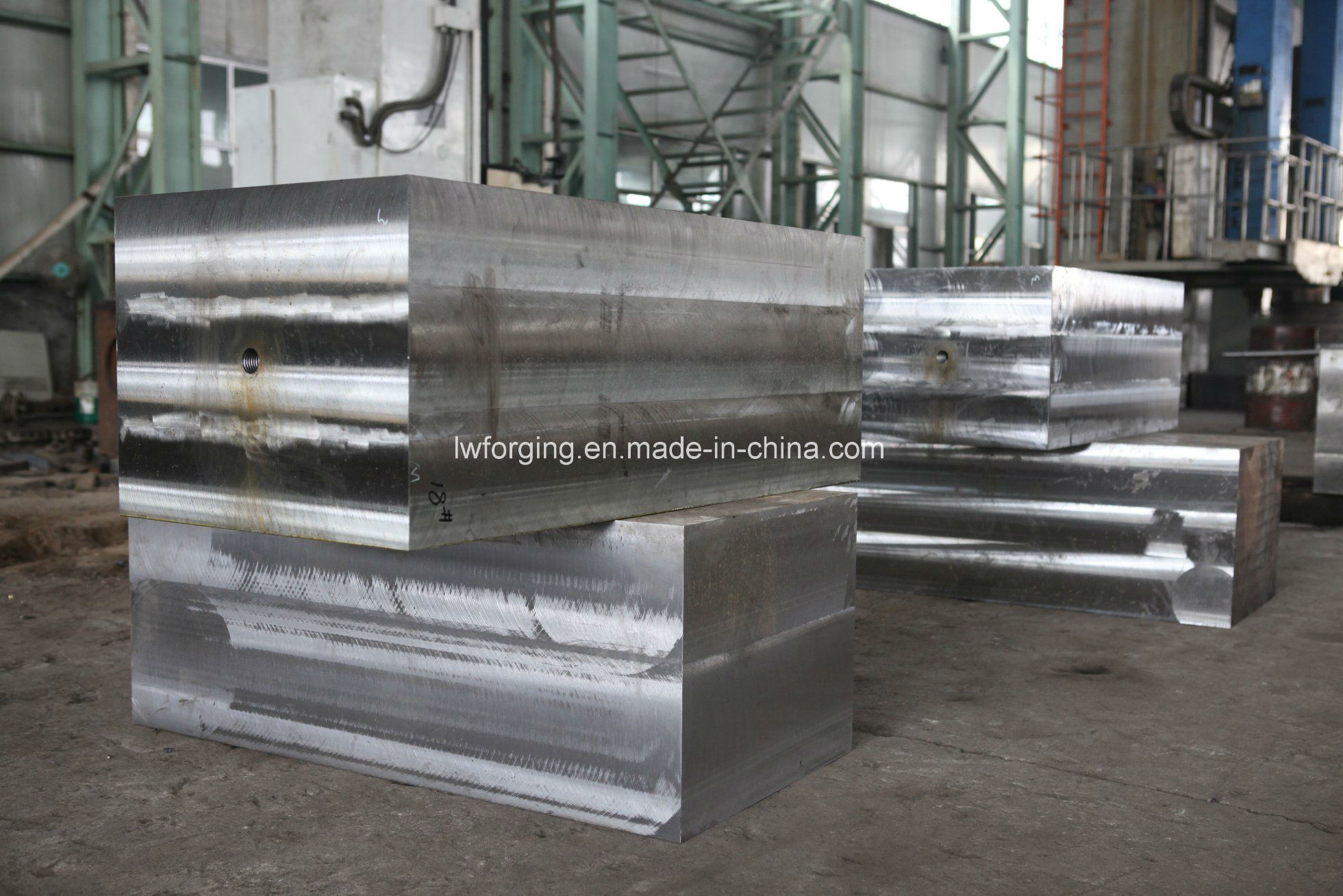Plate Forging Square Bar Forged