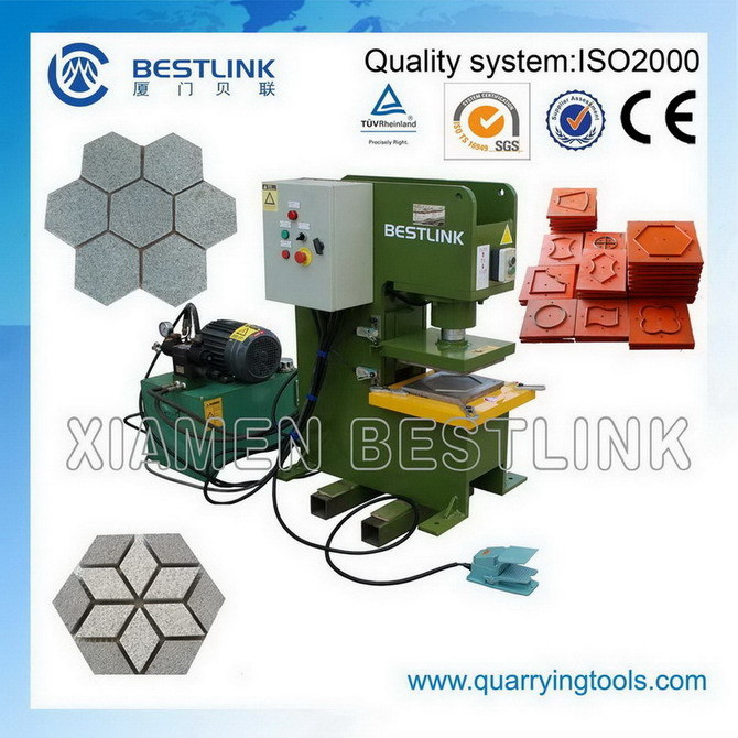Hydraulic Stone Stamping Machine for Paving Stone
