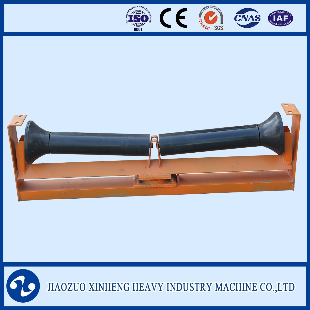 Trough Self-Aligning Conveyor Roller with Ce Approval