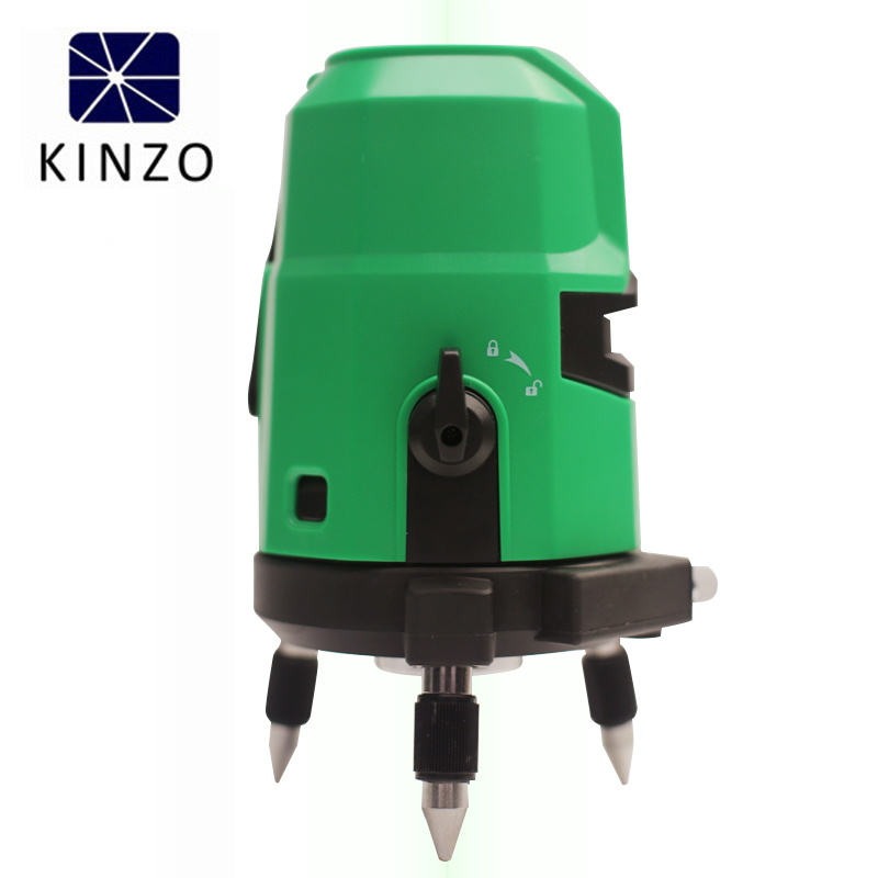Kinzo Line Laser Modular Laser Spirit Level 4V1h Green Lines