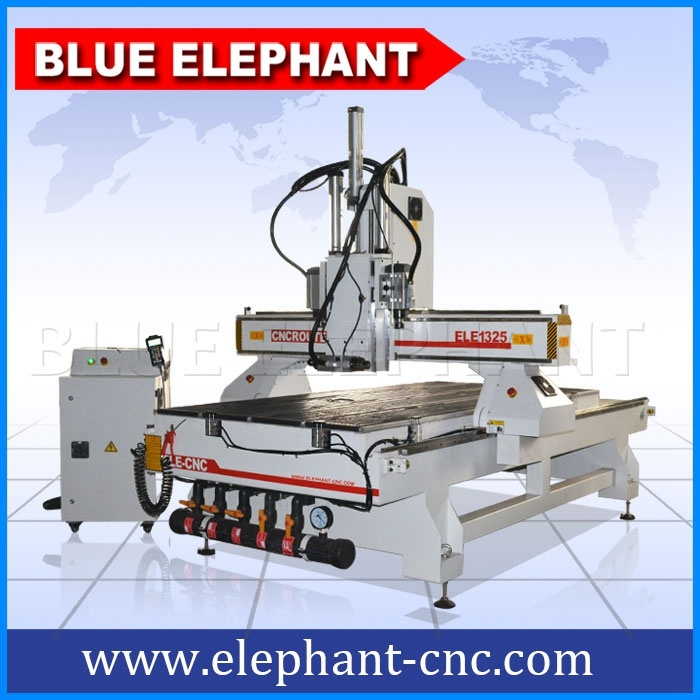 Ele1325 High Quality Multi Spindle CNC Router