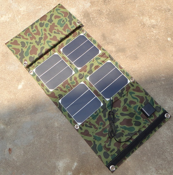 40W Portable Foldable Solar Charger for Charging Mobile Phone