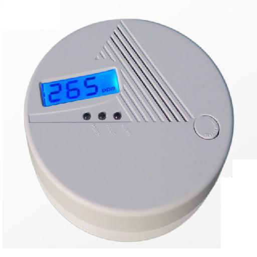 Battery Operated Domestic Co Carbon Monoxide Detector Alarm (MTCOE08)