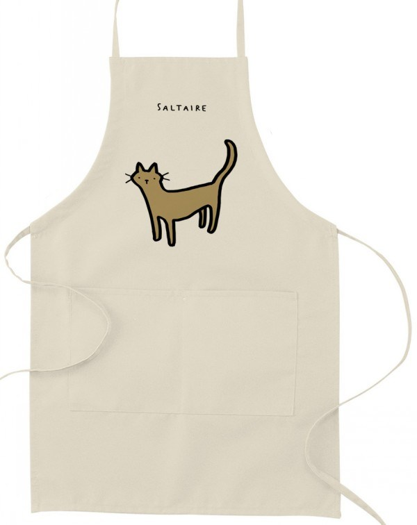 Promotional Printed Cotton Twill / Non Woven / Polyester Kitchen Cooking Apron
