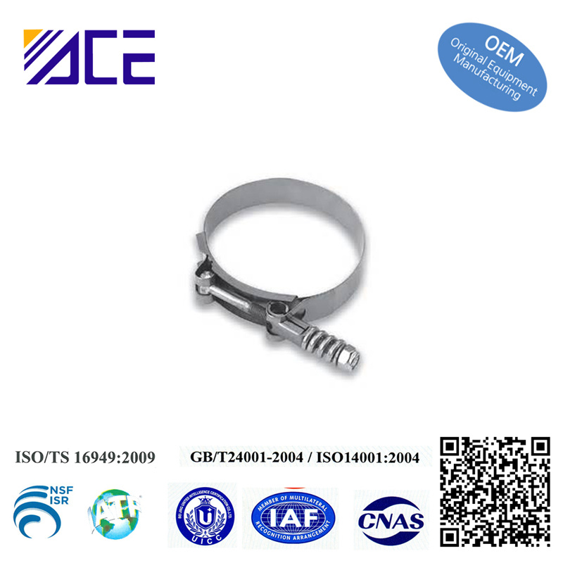 High Quality Stainless Steel 6 Inch Pipe Clamp