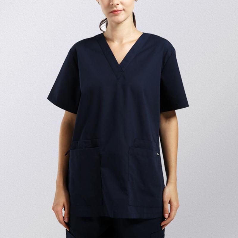 Fashion Design Medical Uniform Unisex Scrub Set Top & Pant
