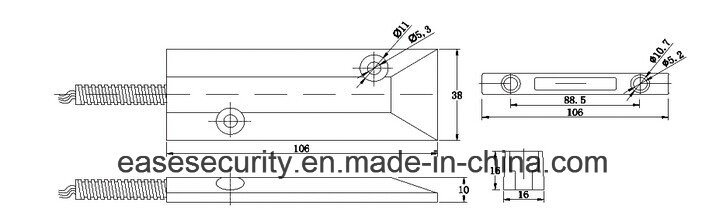 Rolling Gate Door Magnetic Detector for Burglar Alarm (SC-55Z)