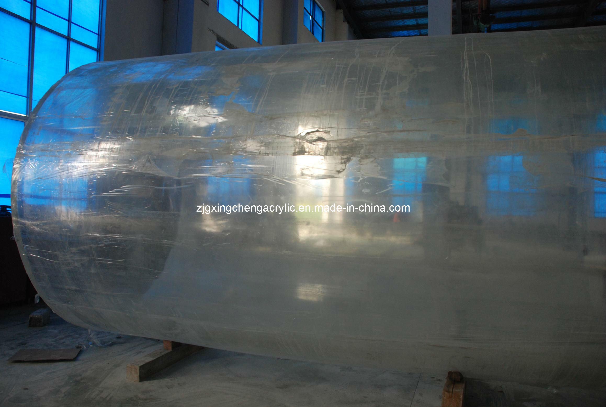 Aquarium fish tank china - Large Acrylic Fish Tank Round Fish Tank