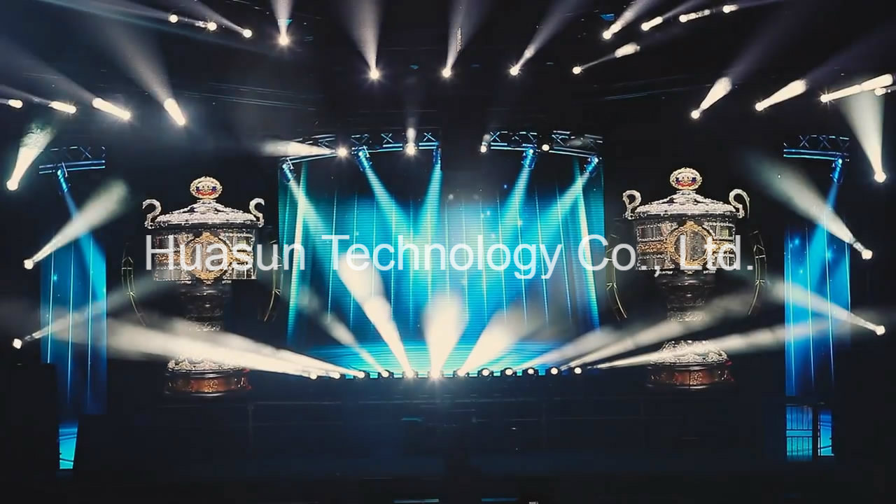 HD Video Screen Flexible LED Curtain P3
