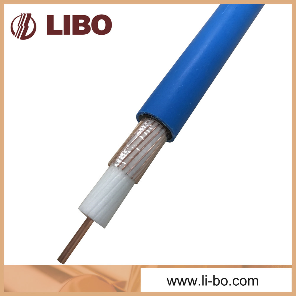 75-10 VHF Leaky Feeder Cable with Fire Retardant Jacket