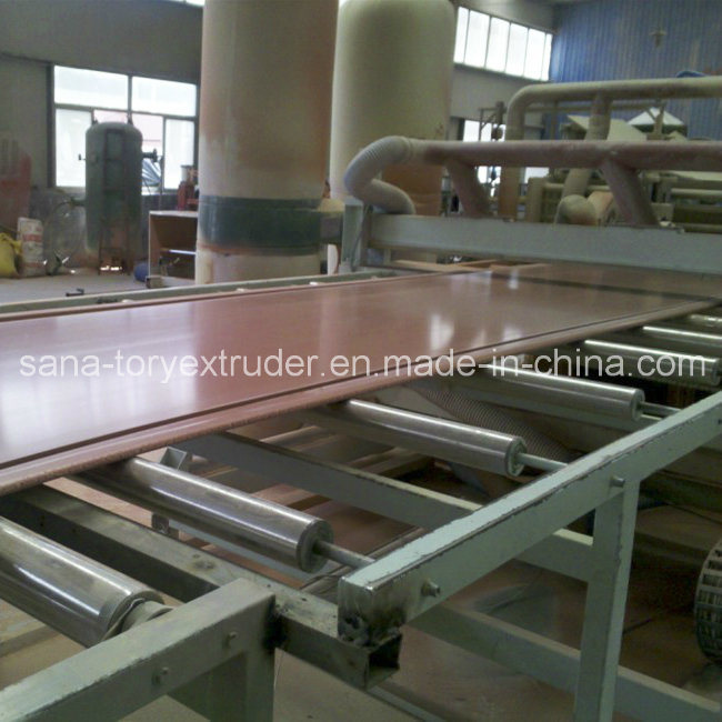 Plastic PVC Wood WPC Crust/Celuka Foamed Board Extrusion Machine