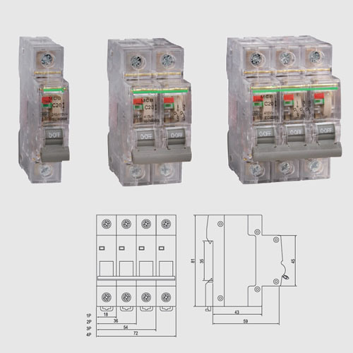 Hot Sale Slcb-Gkl MCB Mini Circuit Breaker