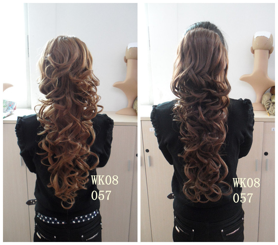 Hair Extension Curly Ponytail 38