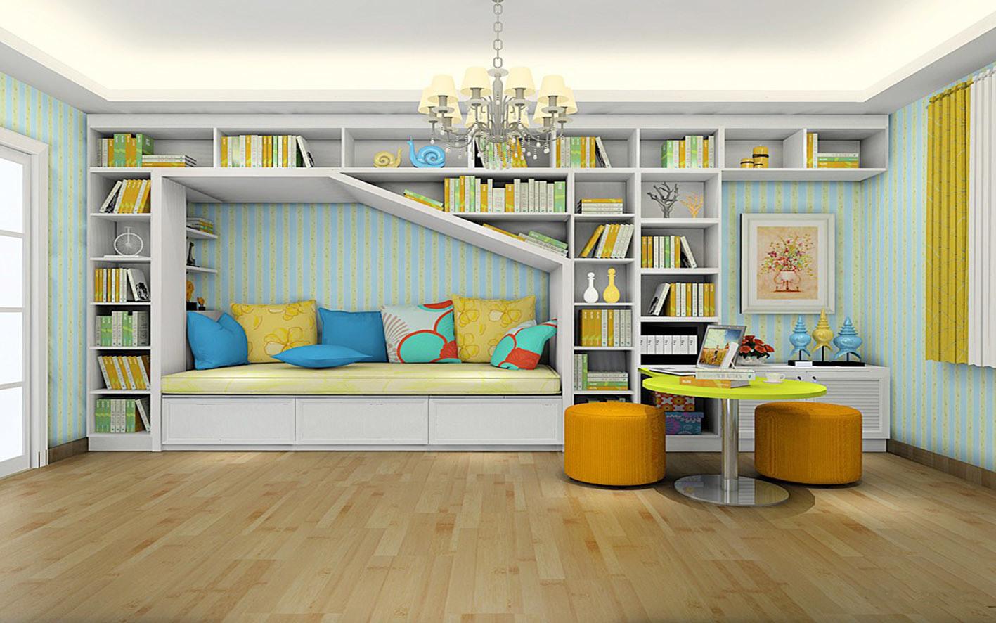 2017 New Modern Study Room Furniture (zj-001)