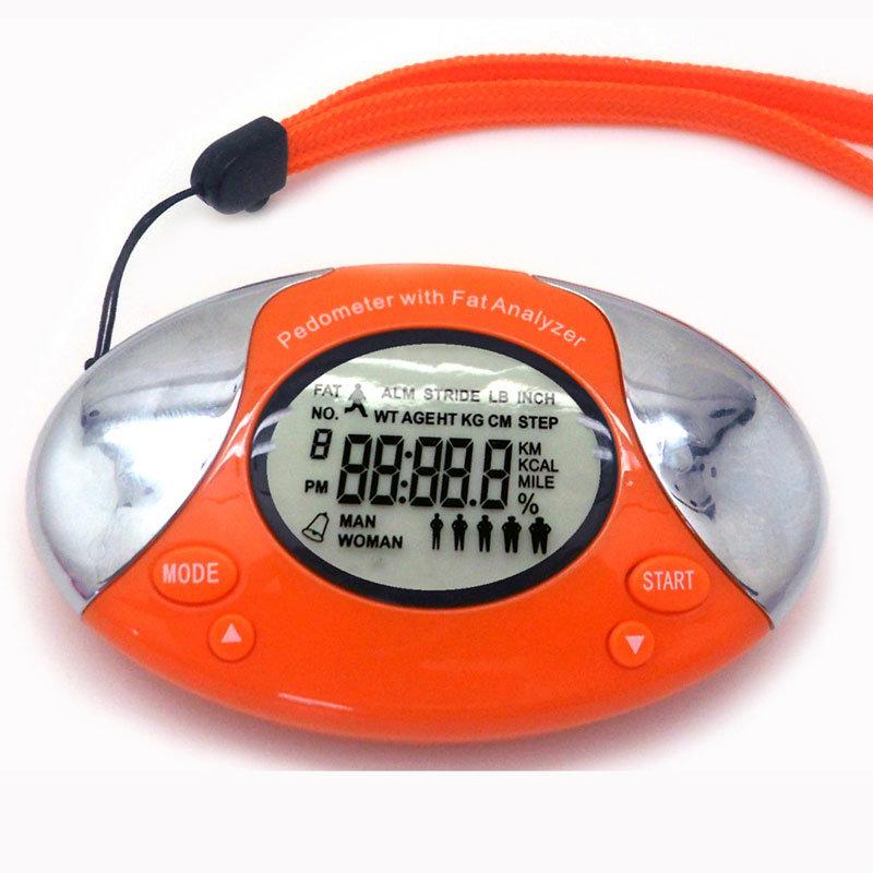 Body Fat Analyser Pedometer