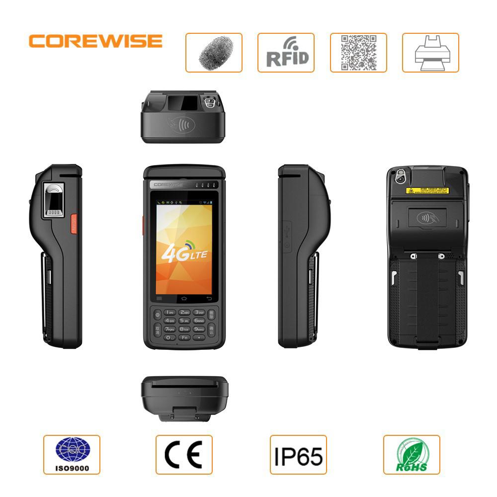Wireless Portable Biometric Fingerprint Handheld POS Terminal