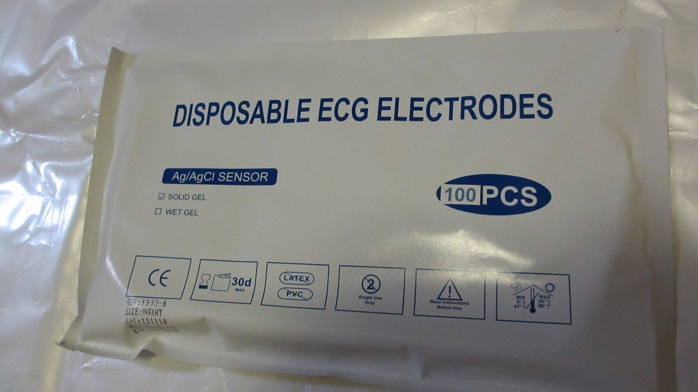 Disposable ECG Electrode with Different Size and Sharp