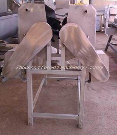 Neck Feather Cleaning/Peeling Machine for Chicken