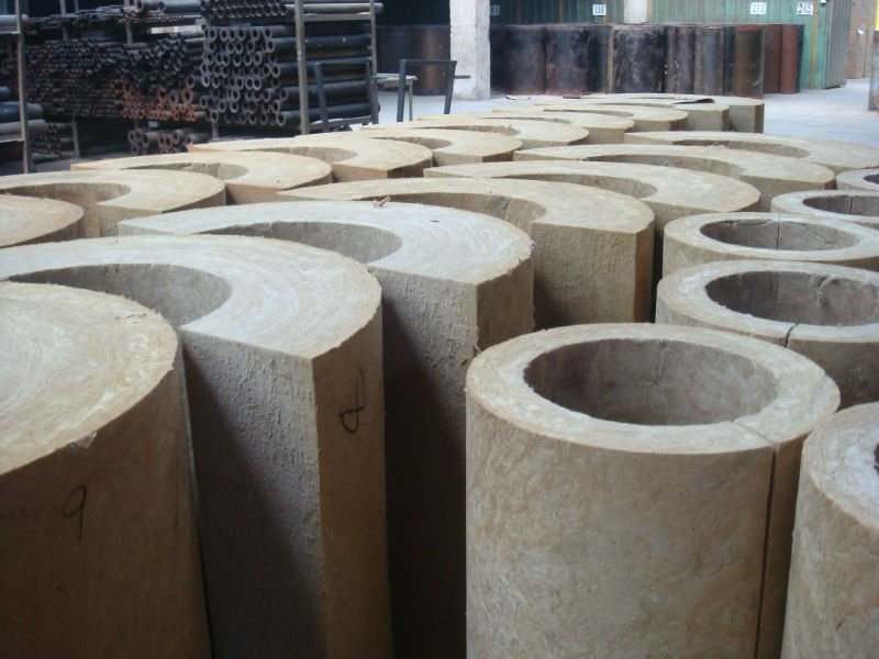 China Rockwool Pipe Mineral Wool Pipe China Rockwool
