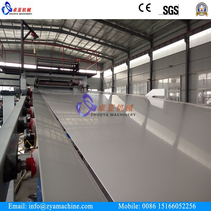PVC Blister Thin Sheet Extruder Machine (2000mm) for Vacuum Forming