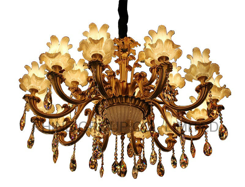 18 RMS Modern Chandelier Lighting with K9 or Swarovski Crystal Decoration
