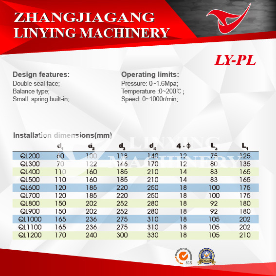 Mechanical Seal (LY-PL)