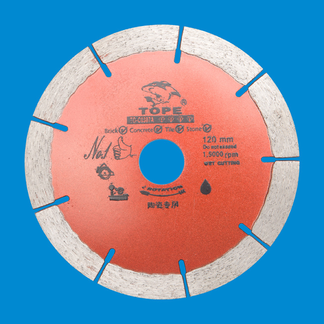 Professional Ceramic Diamond Segmented Saw Blade