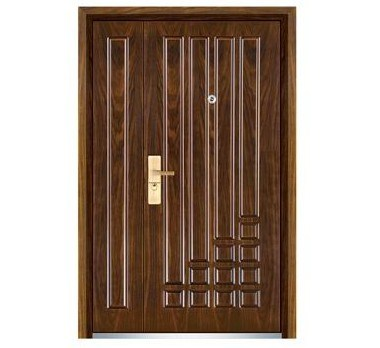 Chinese Fashionable Steel Wooden Son-Mother Door