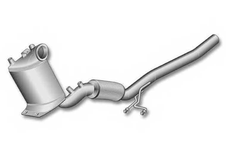 DPF Diesel Particulate Filter for Skoda Audi A3 DPF