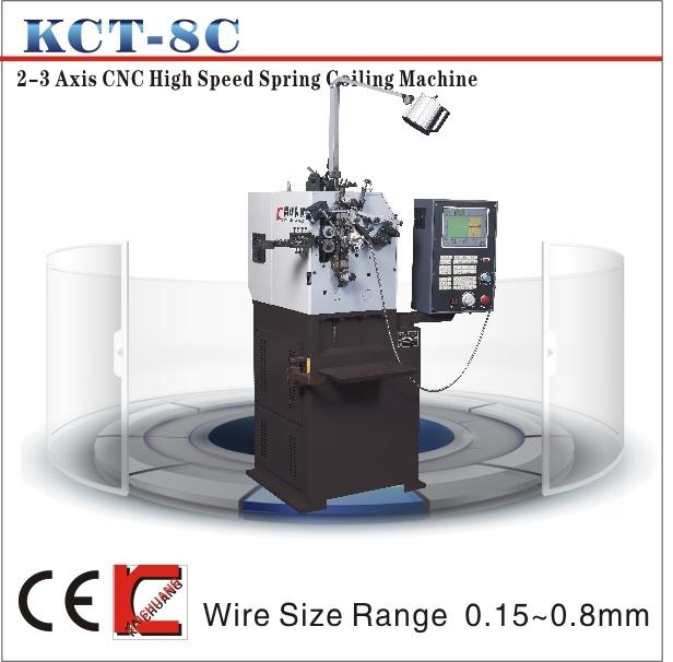Kct-8c Compression Spring Machine