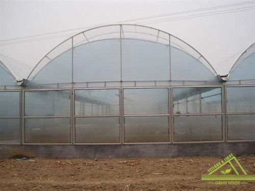 Multi-Span Gothic Film Greenhouse for Farm.