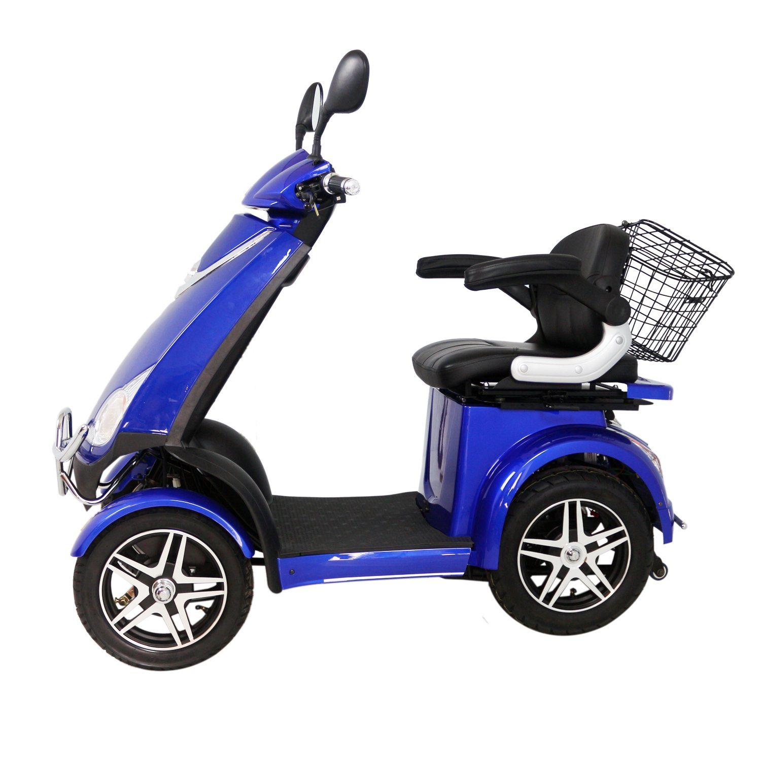 500W Motor Hot Sale Electric Scooter with Four Wheel for Elderly People