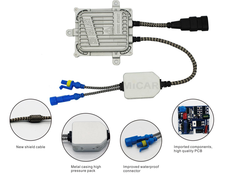 OEM Wholesale Fast Bright 55watt HID Ballast Xenon Kit