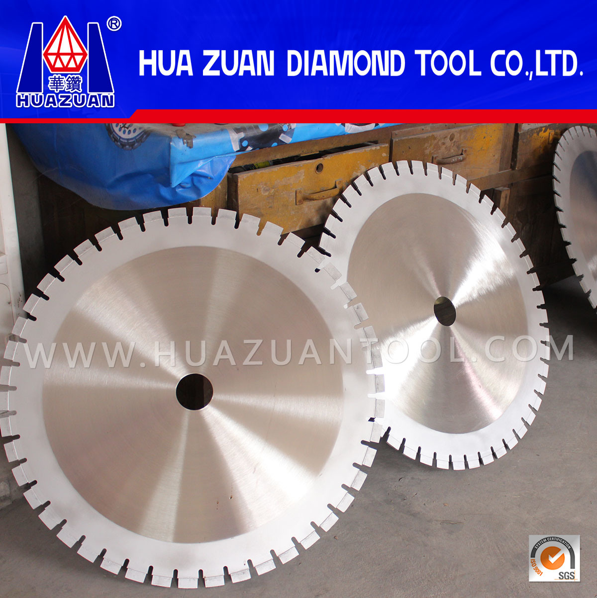 800mm Diamond Blade Machine Saw Blade for Cutting Granite Block