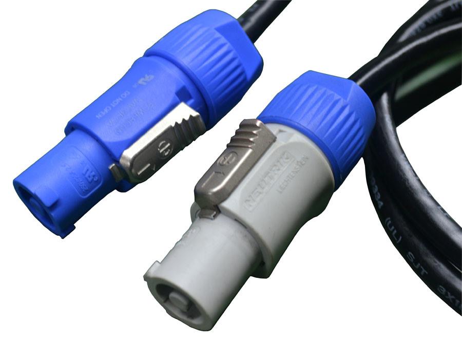 Neutrik Powercon Connector AC Extension Cable