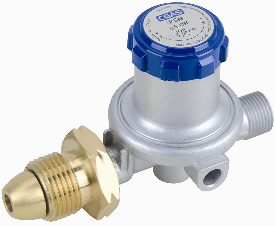 LPG Euro High Pressure Gas Adjustable Regulator