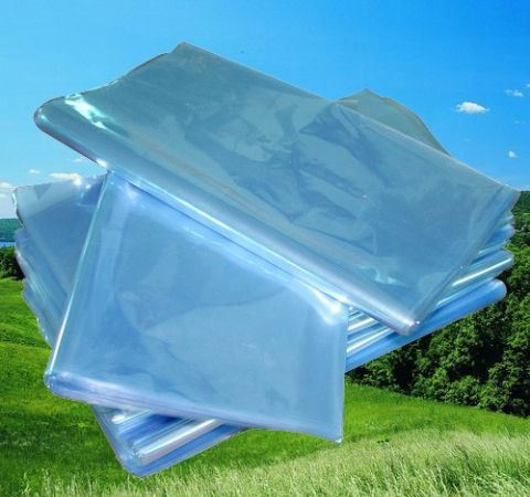 Transparent Polyvinyl Chlorade (PVC) Shrink Flat Bags
